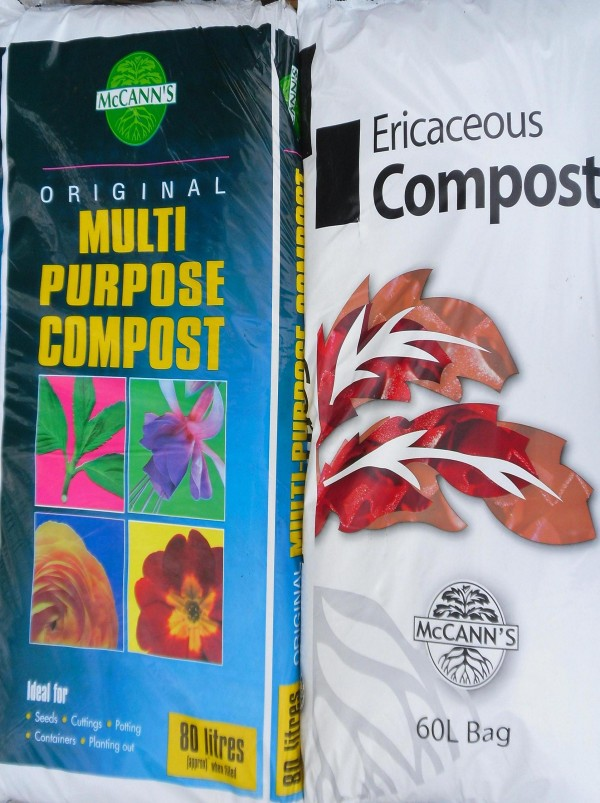 Compost garden products from Dunwiley Nurseries & Garden Centre, Stranorlar, Donegal.